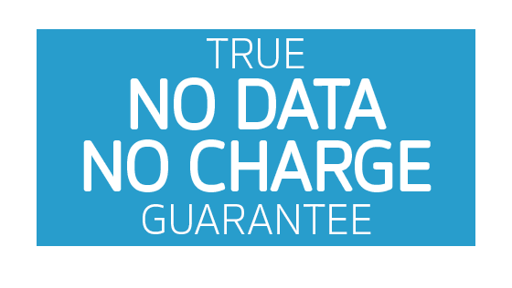 True No Data No Charge Guarantee