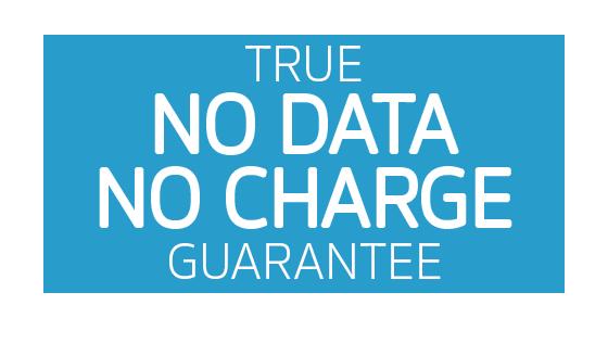 True No Data No Charge Guarantee