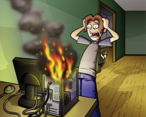 Computer Problem Illustration