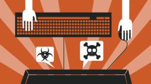 Hacker Interactions Illustration