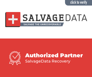 salvagedata authorized partner verification banner