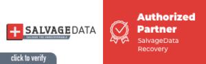 salvagedata authorized partner banner